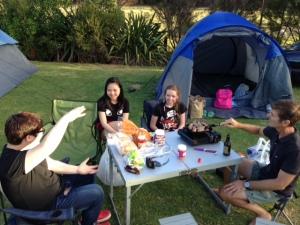 Camp Dinner 1