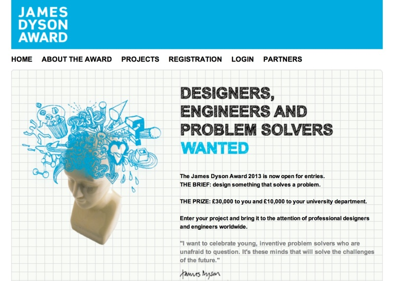 Dyson Awards are open