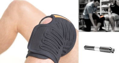 Sensa knee brace: Josh Munn