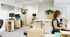 MOVE Standing Office Furniture: AUT Staff/Student team
