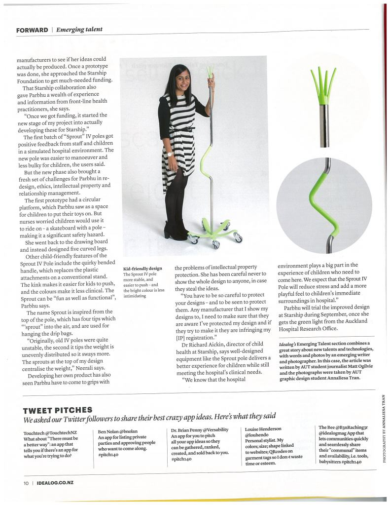 Idealog October 2014 Sprout Pg2