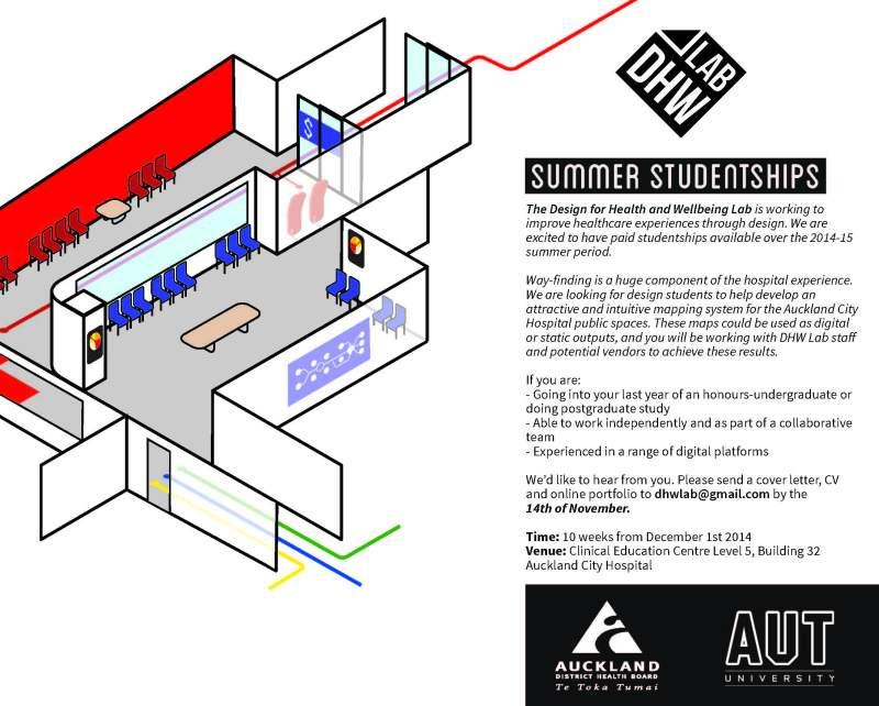 Studentship flyer