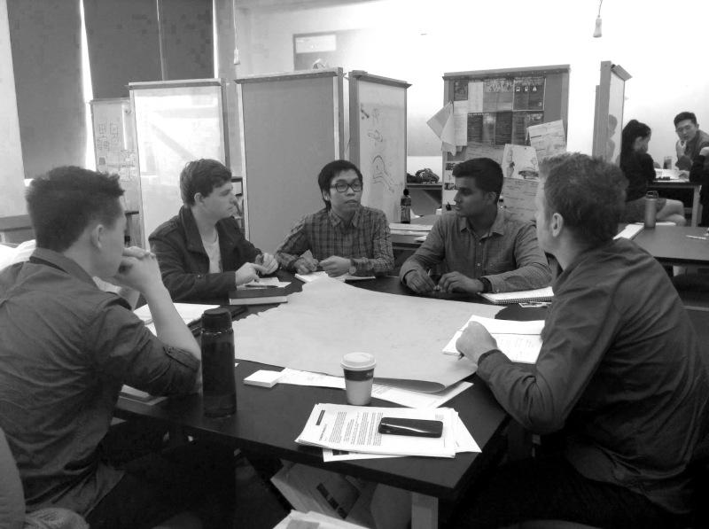 The Blentek group briefing with Blender's Oliver McDermott
