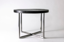 "Matt Baillie: ""Leather Top Table"""